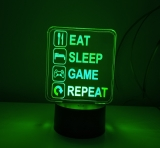 Led lampička GAME